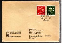 44154 - De BERN Pour La France - Briefe U. Dokumente
