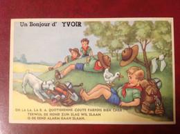 Un Bonjour D'Yvoir Scoutisme BA RARE - Unclassified