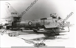 PHOTO RETIRAGE REPRINT AVION  REPUBLIC F 84 29078 - Aviation