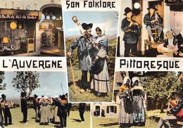 Auvergne (63) - Son Folklore - Multivues - Non Classificati
