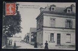 Chouzé Sur Loire - Route De Saint Nicolas De Bourgueil - Other Municipalities
