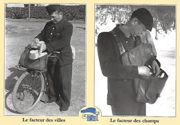 Poste Postes - Humour - Le Facteur Des Villes Des Champs - DAX - Briançon - 1954 - Maurice Bonnel - - Poste & Postini