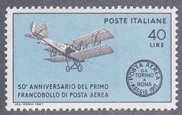 ITALY  SCOTT NO. 968  MNH   YEAR 1967 - 1961-70: Mint/hinged