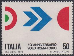 ITALY  SCOTT NO. 1011  MNH   YEAR 1970 - 1961-70: Mint/hinged