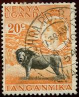 Pays : 260,1 (Kenya-Ouganda-Tanganyika )  Yvert Et Tellier N° :  92 (o) - Kenya, Uganda & Tanganyika