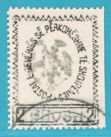 ALBANIEN 28 ° HANDSTEMPEL ADLER 1913 = Albanie Yvert 41 O. = Albania Scott #33 U. - Albania