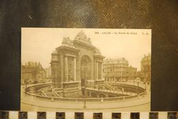 CP, 59,  LILLE,  N°105,  La Porte De Paris . - Lille