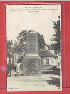 TOURY MONUMENT A L AVIATEUR BLERIOT 1° VOYAGE AERIEN TOURY ARTENAY ET RETOUR AVION AVIATION - Other Municipalities