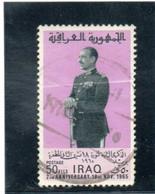 IRAK   1965  Y.T.  N°  -  Oblitéré  Pli - Irak