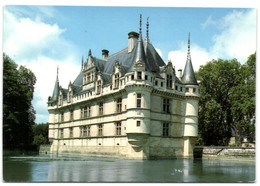 Azay Le Rideau - Le Château Se Mirant Dans Un Bras De L'Indre - Azay-le-Rideau