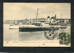 CPA - DIEPPE - Le Steamer DIEPPE Dans Les Jetées - Dieppe