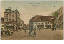 Allemagne. N° 33717.homburg.marktplatz - Saarpfalz-Kreis