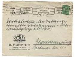 290 - 3 - Enveloppe Envoyée De Berlin 1923 - Cartas