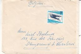Allemagne - République Démocratique - Lettre De 1966 - Oblit Luckenwalde - Luge - Championnat Du Monde - Valeur 13 Euros - Briefe U. Dokumente
