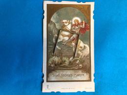 Holy Card Saint Georges Martyr Déposé Import Italy Image Pieuse - Imágenes Religiosas