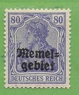 MiNr.17 X (o.g.) Deutschland Deutsche Abstimmungsgebiete Memelgebiet - Memel (Klaïpeda)