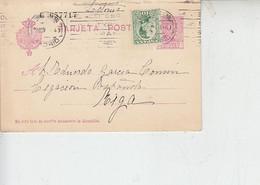 SPAGNA 1930 - Tarjeta P. Per La Lettonia -.- - 1850-1931