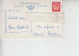 GRAN BRETAGNA 1954 - Cartolina Per Italia -.- - Covers & Documents