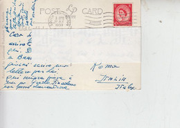 GRAN BRETAGNA 1953 - Cartolina Per Italia -.- - Covers & Documents