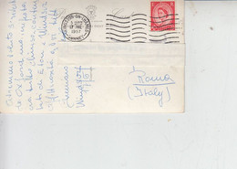 GRAN BRETAGNA 1957 - Cartolina Per Italia -.- - Covers & Documents