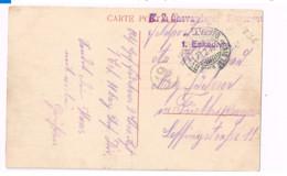 Carte Postale En Feldpost.Expédiée à Fürth/Bayern. 2 Chevauleger Regiment. - Briefe U. Dokumente