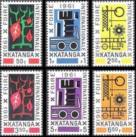 69/74** - Foire Internationale D'Elisabethville / Internationale Handelsbeurs Te Elisabethstad - KATANGA - Katanga