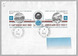 27 - TAAF PA 77A ANNEE POLAIRE INTERNATIONALE Sur Enveloppe PORT AUX FRANCAIS KERGUELEN  Du 8.3.1983. - Briefe U. Dokumente