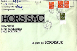 TYPE MARIANNE DE LAMOUCHE N°3739x3+3756 SUR LETTRE HORS SAC DE DAX/2.12.05 - 2004-08 Marianne De Lamouche
