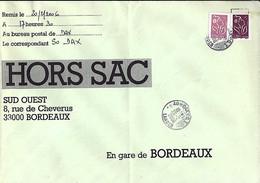 TYPE MARIANNE DE LAMOUCHE N°3757/3759 SUR LETTRE HORS SAC DE DAX / 22.2.06 - 2004-08 Marianne De Lamouche