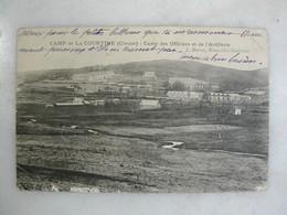 MILITARIA - CAMP DE LA COURTINE - Camp Des Officiers Et De L'artillerie - Casernes