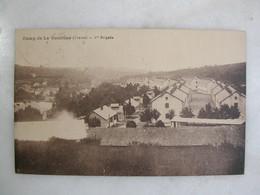 MILITARIA - CAMP DE LA COURTINE - 1ère Brigade - Casernes