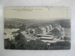 MILITARIA - CAMP DE LA COURTINE - Vue Générale - 1ère Brigade Et étang Grattadour - Casernes