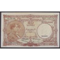 Belgique, 20 Francs 01.09.48, XF - Sin Clasificación