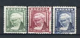 España 1946. Edifil 1005-7 ** MNH - 1931-50 Unused Stamps