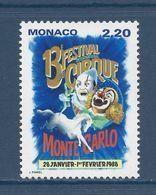 ⭐ Monaco - YT N° 1596 - Neuf Sans Charnière - 1987 ⭐ - Unused Stamps
