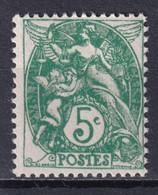 TYPE BLANC - YVERT N°111 TYPE IIB ! ** MNH - COTE = 100 EUR. - 1900-29 Blanc