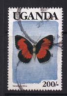 Uganda: 1989   Butterflies   SG755    200/-    Used - Uganda (1962-...)
