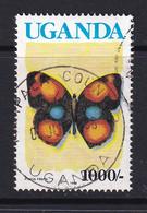 Uganda: 1990/92   Butterflies  SG876B    1000/-  [with Imprint Date]  Used - Uganda (1962-...)