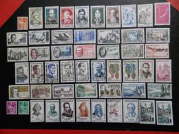 FRANCE ANNEE COMPLETE 1957 SOIT 52 TIMBRES OBLITERES 1ER CHOIX ; VOIR PHOTOS - 1950-1959