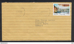 FINLAND: 1983 COUVERT WITH 1 M. 70 EUROPE CEPT (891) - TO GERMANY - Cartas
