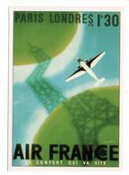 AIR FRANCE - Repro Affiche (Editions Atlas) - Otros