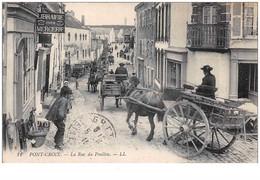 29 . N° 50447 .  Pont Croix . La Rue Du Poullou - Pont-Croix