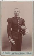 CDV Photo Originale XIXème Militaria Officier Saint Cyr Casoar Cdv3008 - Alte (vor 1900)