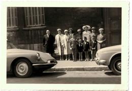 PHOTO Avec CITROEN DS 13cm X 9cm - Automobili