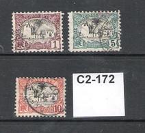 French Somali Coast  1903 3 Values To 10c - Oblitérés