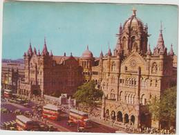 Asie :  Inde : Bombay :  Victoria  Terminus , Bus - India