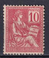 MOUCHON - YVERT N° 116 ** MNH DENTS COURTES ! - COTE = 240 EUR. - 1900-02 Mouchon