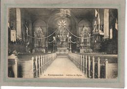 CPA - (57) KOENIGSMACKER - Aspect De L'intérieur De L'Eglise Dans Les Années 20 - Volmunster