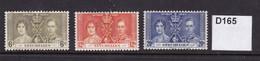 Seychelles 1937 Coronation - Seychellen (...-1976)