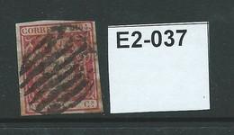 Spain 1854 4c - Gebraucht